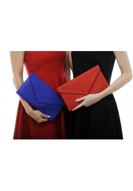 Clover envelope clutch