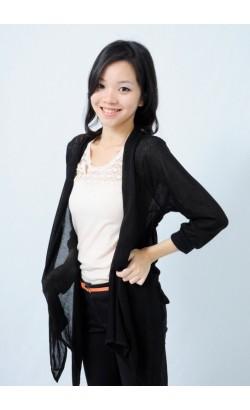 Carmille cardigan (black)