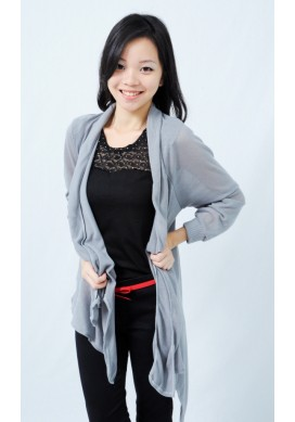 Carmille cardigan (grey)