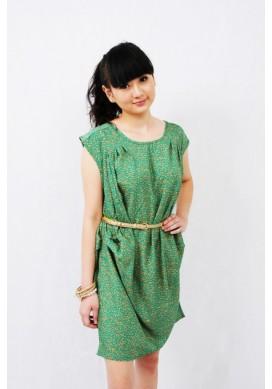 Ventura green dress